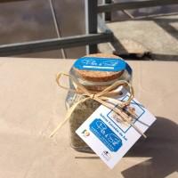 Flor de sal com oregãos, frasco de 200 gr (2)