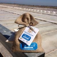Flor de sal natural emb. de juta, 250 g